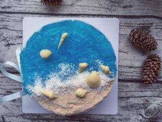 海洋酸奶慕斯蛋糕(六寸)