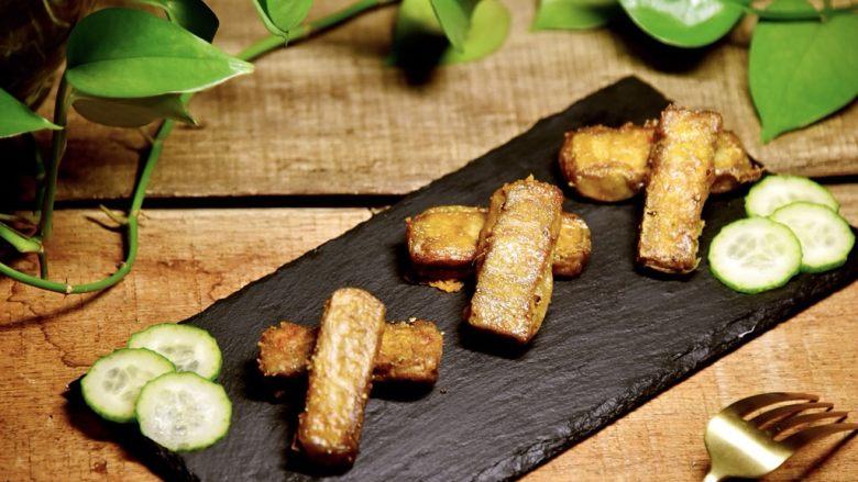 咖喱烤毛豆腐