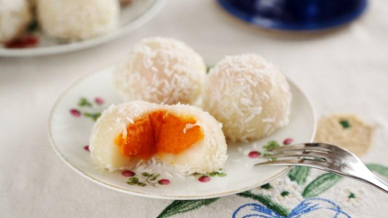 微波炉美食+微波炉版红薯馅料,做好的馅可以包糯米糍。