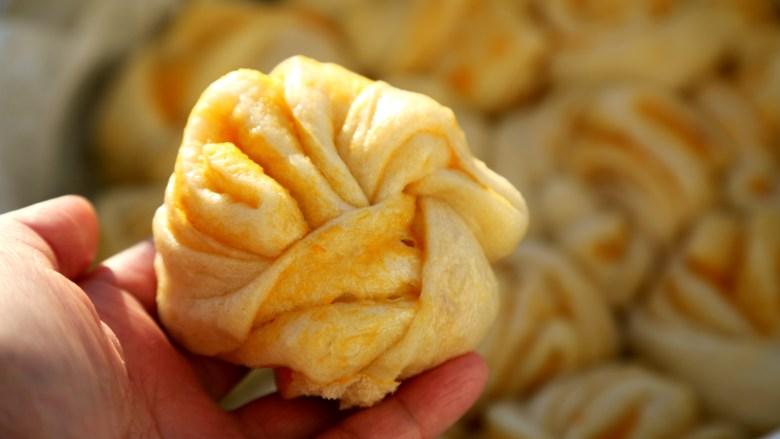 微波炉美食+微波炉版红薯馅料,做好的馅可以做为花卷的夹层。