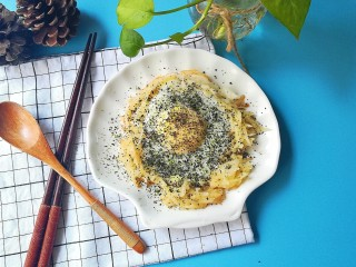 #宝宝辅食#苔香土豆太阳蛋