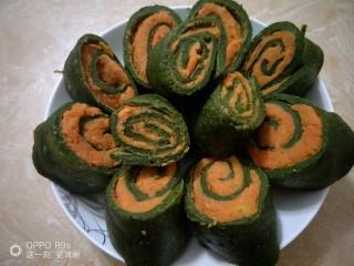 野菜红薯卷