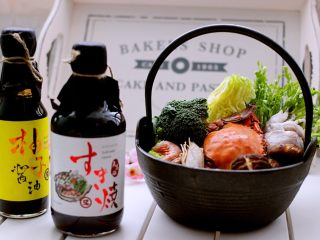 什锦海鲜寿喜锅