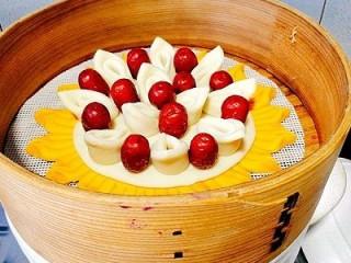 一锅出&枣花馍+红薯枸杞粥  ,上锅蒸,一锅直接搞定早餐
