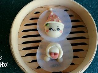 造型馒头——长草颜团子,萌萌哒!