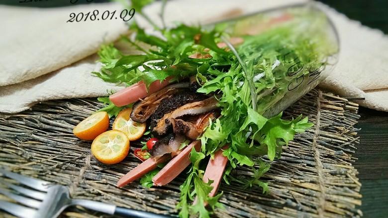 红极参蔬菜沙拉