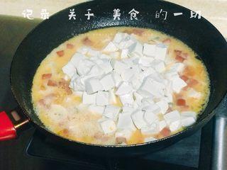 浅湘食光&咸蛋豆腐,加入豆腐