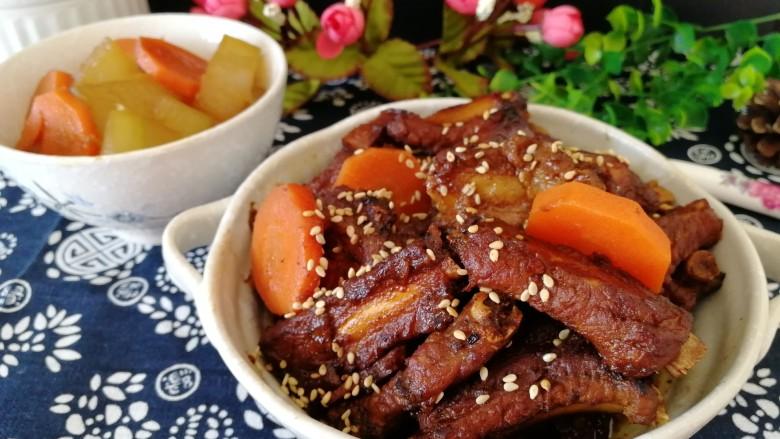 年菜菜谱_蜜汁小排