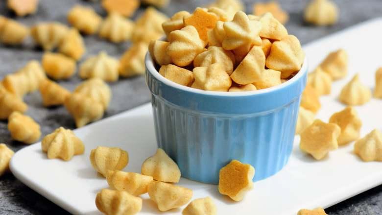 完美香蕉溶豆 健康营养宝宝辅食 超人气小零食