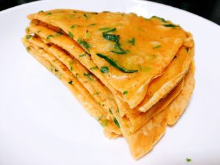 鸡蛋葱饼--教你做十分钟搞定的快手早餐