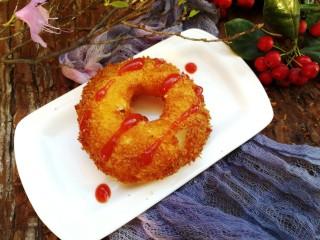 苹果甜甜圈,可以这样吃