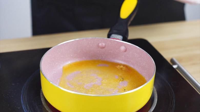 鲜嫩欲滴的黄金带子,和青翠绿意的青豆酱—春天并不遥远,锅中入黄油