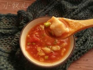番茄龙利鱼,一碗酸鲜的番茄龙利鱼就做好啦!