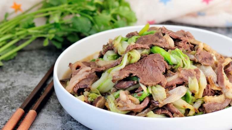 原香羊肉烩白菜 营养滋补美味家常菜 冬天御寒进补的首选