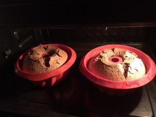 可可榛子萨瓦林蛋糕,没有添加泡打粉,依然蓬松柔软😋