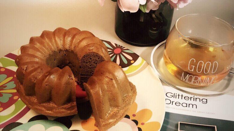可可榛子萨瓦林蛋糕