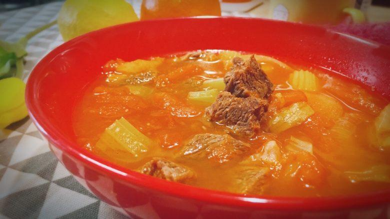 牛肉炖西红柿「高压锅加砂锅省时版」
