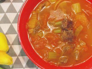 牛肉炖西红柿「高压锅加砂锅省时版」,出锅了!!!这个色泽,这个味道,这个口感!哇塞了!太爽了!!