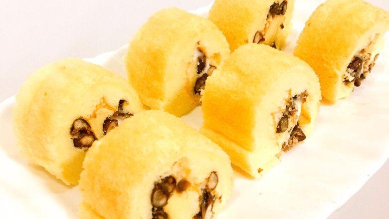 肉松or红豆蛋糕卷