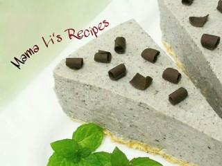 黑芝麻豆腐芝士蛋糕