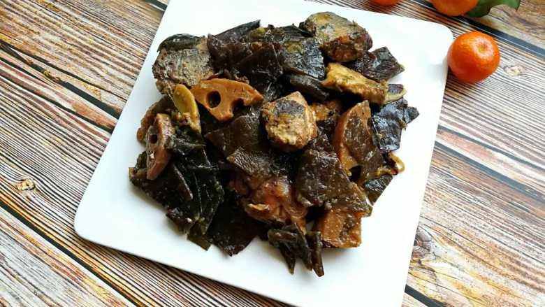 山东传统名吃—博山酥锅