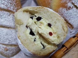 全麦奶酪蔓越莓软欧面包