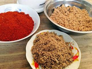 怀念那一抹红-辣椒蘸酱,也可以都放到一起吃起来方便,也可以单个做蘸酱