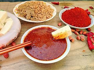 怀念那一抹红-辣椒蘸酱,炖一块豆腐,美味啊