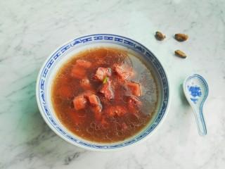海虹莲藕排骨汤