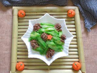 鸡胗炒芥菜
