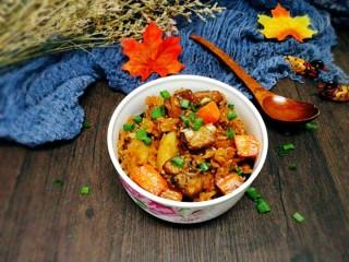 电饭煲+排骨土豆焖饭