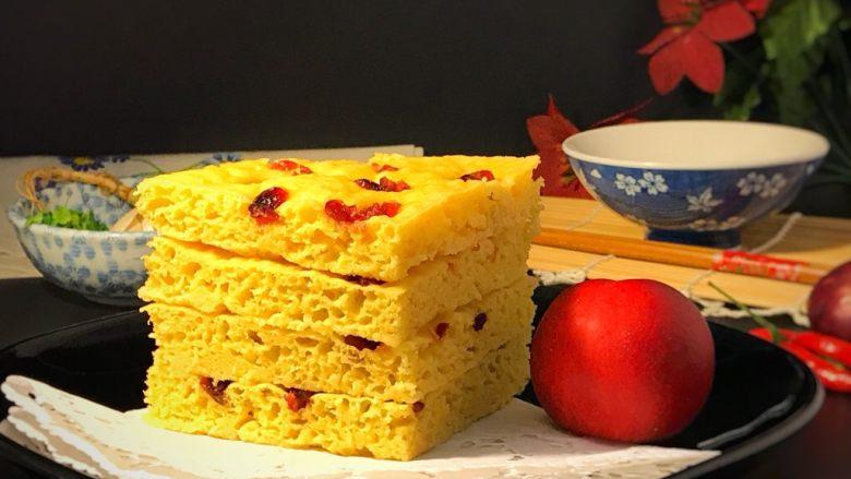 电饭煲+玉米面发糕