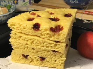 电饭煲+玉米面发糕,成品非常漂亮。