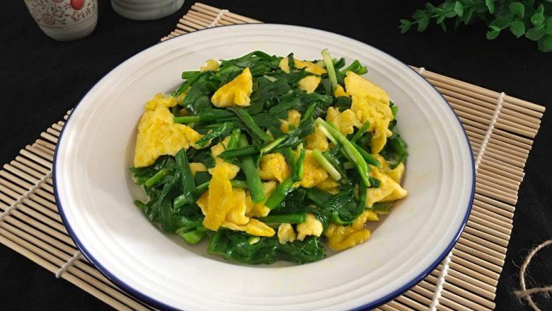 五分钟系列 韭菜炒鸡蛋