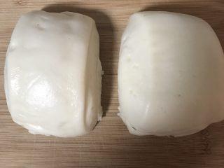 鸡蛋煎馒头,白馒头2个,我用的是隔夜馒头
