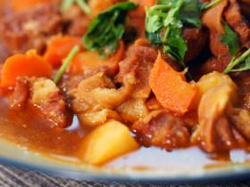 暖冬来道味美汤浓的番茄牛腩, 再来三碗米饭也不停不下!