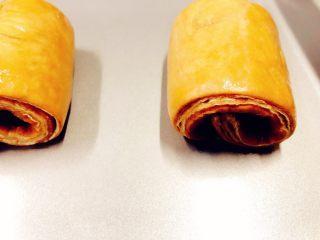 美味脏脏包,发酵好的面包烤前表面刷全蛋液,送入预热好的烤箱180度,烤约20分钟。