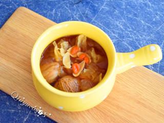 百变水果+无花果银耳百合汽锅甜汤