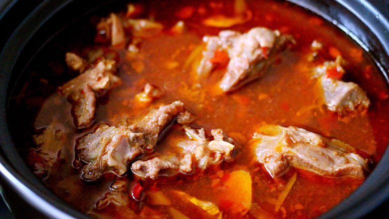 豆瓣酱羊蝎子,诱人美味又营养丰富的豆瓣酱羊蝎子就做好了