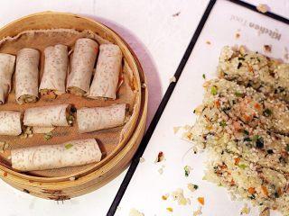 广式茶点—香芋糯米卷