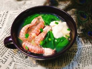 翡翠白玉虾姑汤