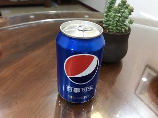 可乐鸡翅,可乐一罐