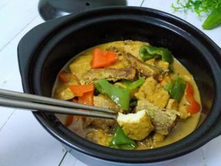 咸鱼豆腐煲,成品
