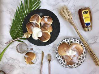 超软绵舒芙蕾松饼——日式松饼,摆盘快速出炉,拍照吧!