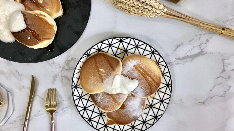 超软绵舒芙蕾松饼——日式松饼