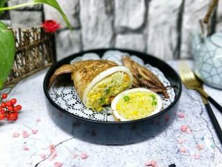 #鱿鱼与炒饭的新吃法#~咖喱鱿鱼包饭
