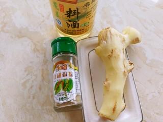 小米的另类吃法~小米豆腐虾仁丸,这是调味料