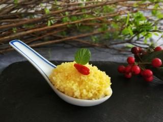 小米的另类吃法~小米豆腐虾仁丸,美腻更美味哦