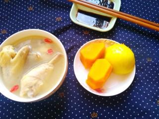 冬日暖心鸡汤
