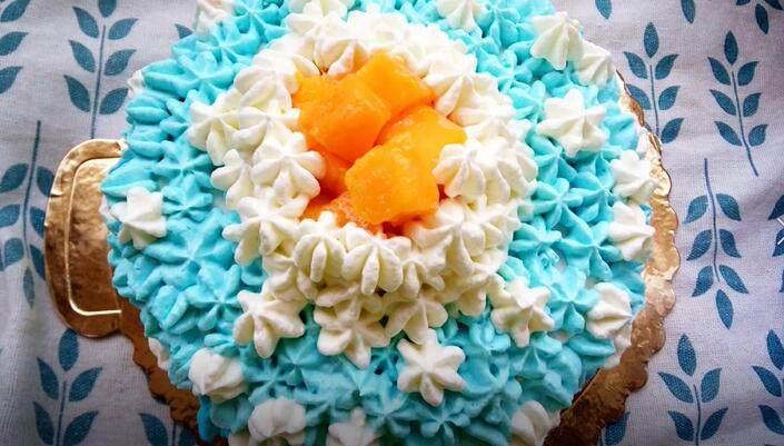 自制奶油蛋糕(附打发奶油教程)